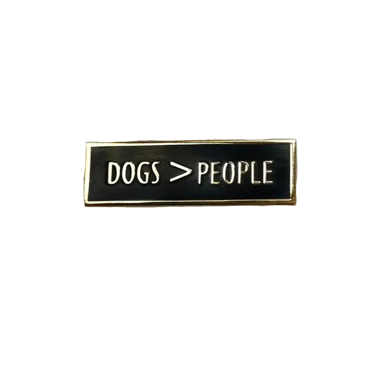 Enamel Pin - Dogs > People