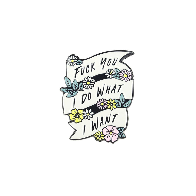 Enamel Pin - F*ck You