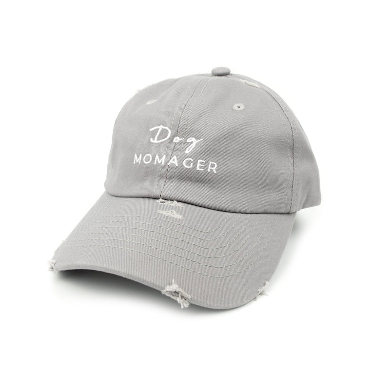 Dog Momager Hat - Grey
