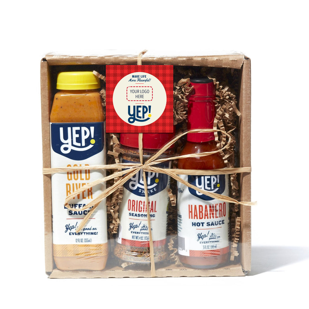 Personalized Hot & Spicy Gift Set