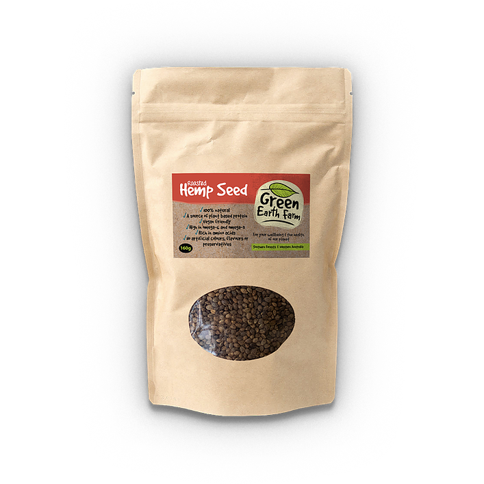 Roasted Hemp Seed | Green Earth Farm