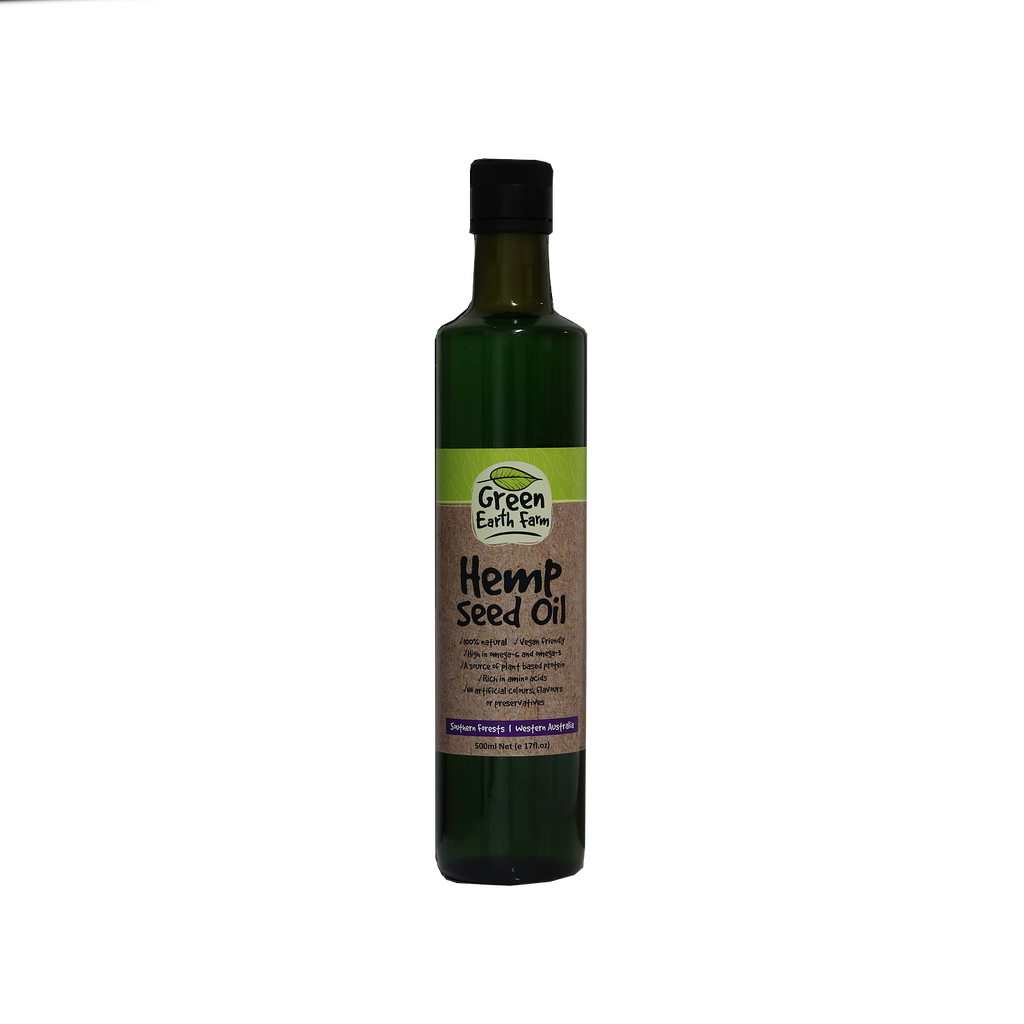 Green Earth Farm Hemp Seed Oil 500ml