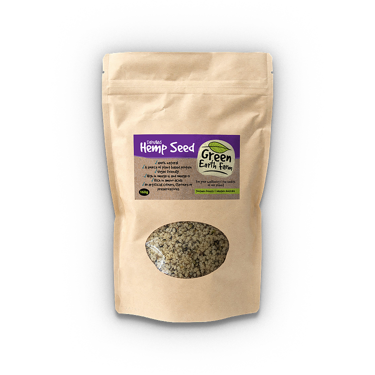 Green Earth Farms Hemp Seeds (de-hulled) | Hemp Seed