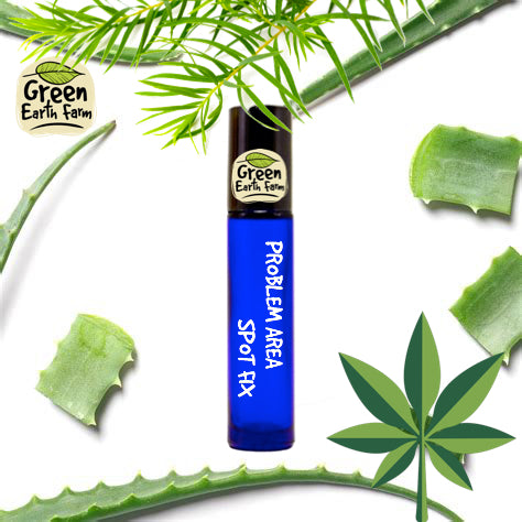 Green Earth Farm Hemp Problem Area Spot Fix 10ml Roll On {NEW}