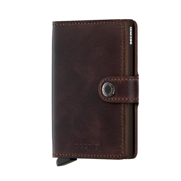 Secrid Miniwallet - Vintage Chocolate Leather