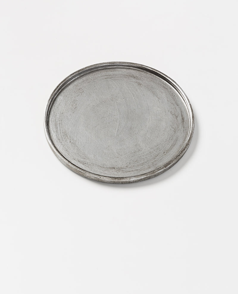 North Pole tray silver - sm D30cm