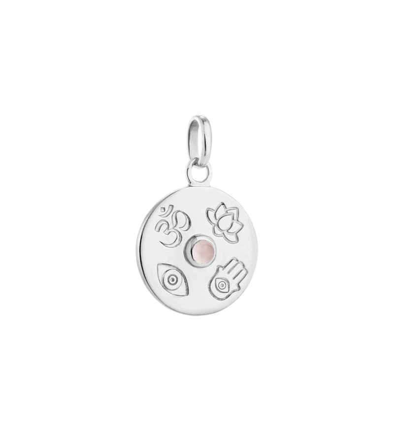 Enlighten lucky coin (sterling silver)