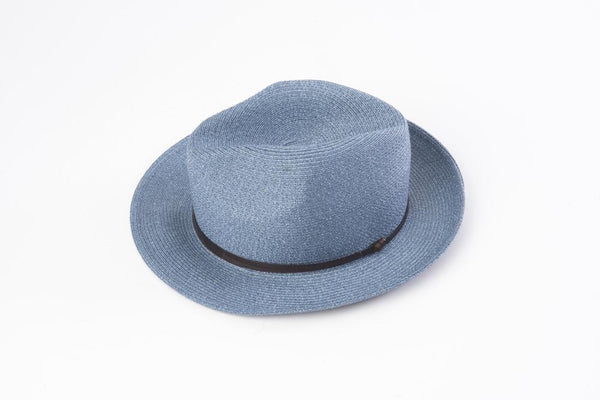 Hat Borsalino Fedora Denim
