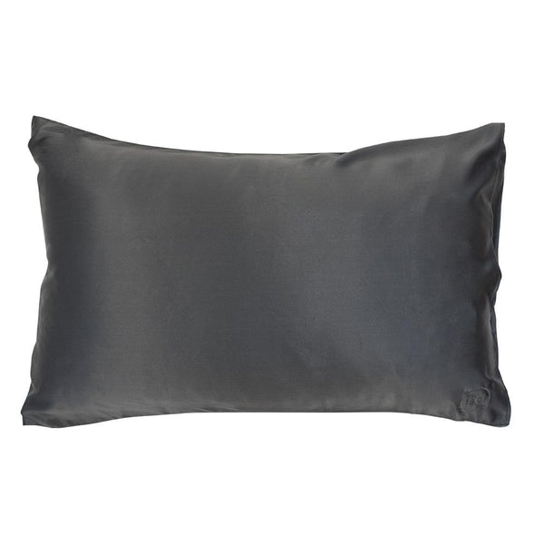 TGC Silk Pillowcase Charcoal