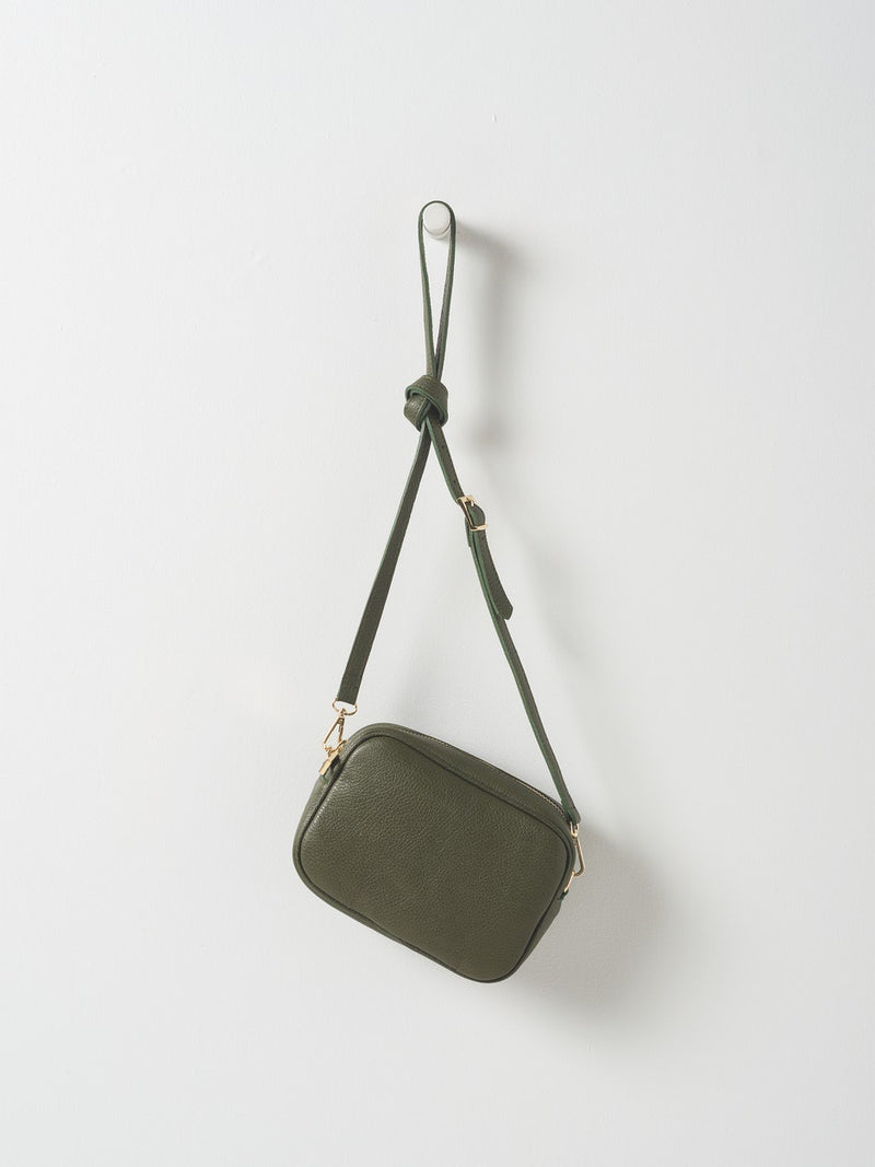 Dixon Leather Handbag Olive