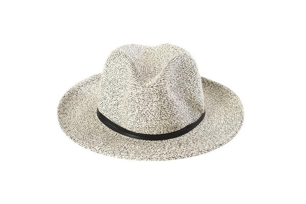 Hat Borsalino Fedora White Black