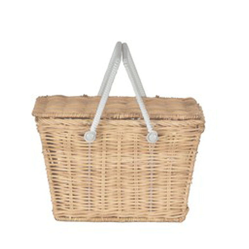 Kids Piki Picnic Basket - Straw
