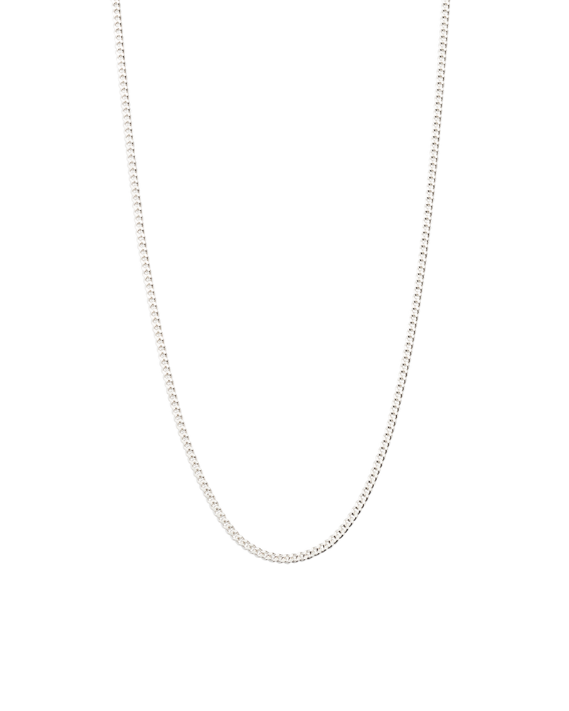 "Bespoke Curb Chain 22-25"" (sterling silver)"