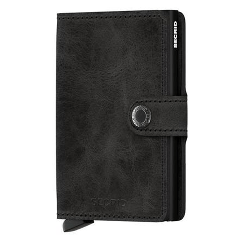 Secrid Miniwallet - Vintage Black Leather
