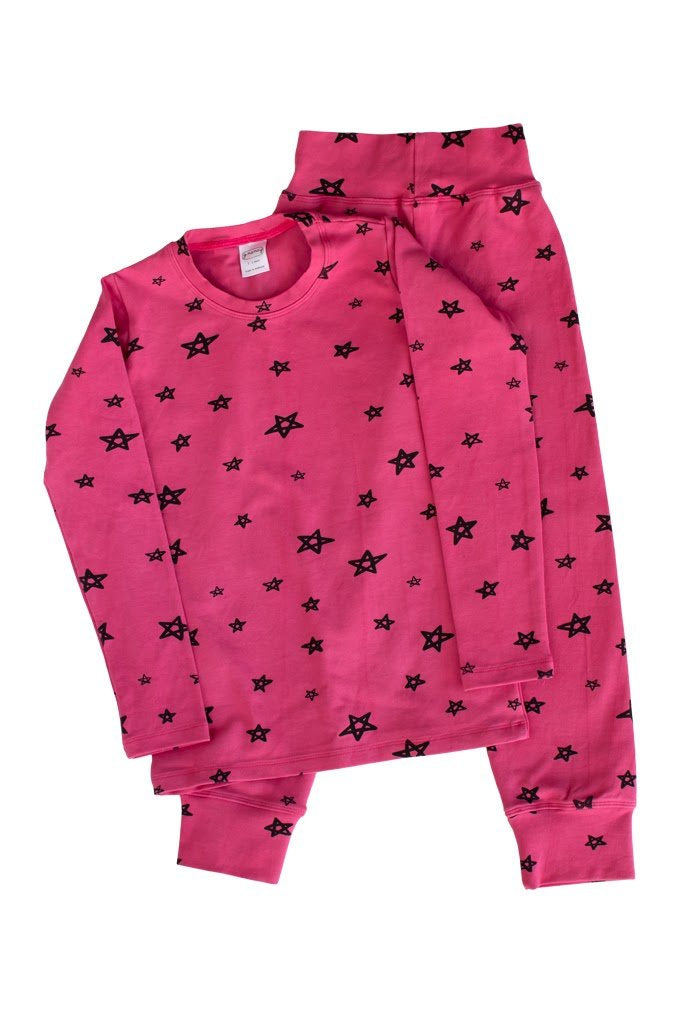 Bougainvillea Star Long PJ Set