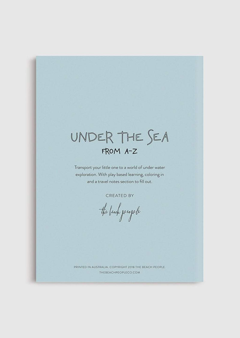 Colouring Book - Under the Sea from A-Z