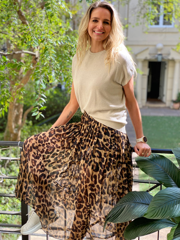 Animal Skirt Natural