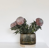 Pleat Vase Smoke (XL)
