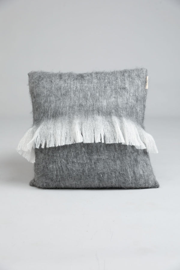 Lake House Cushion Charcoal