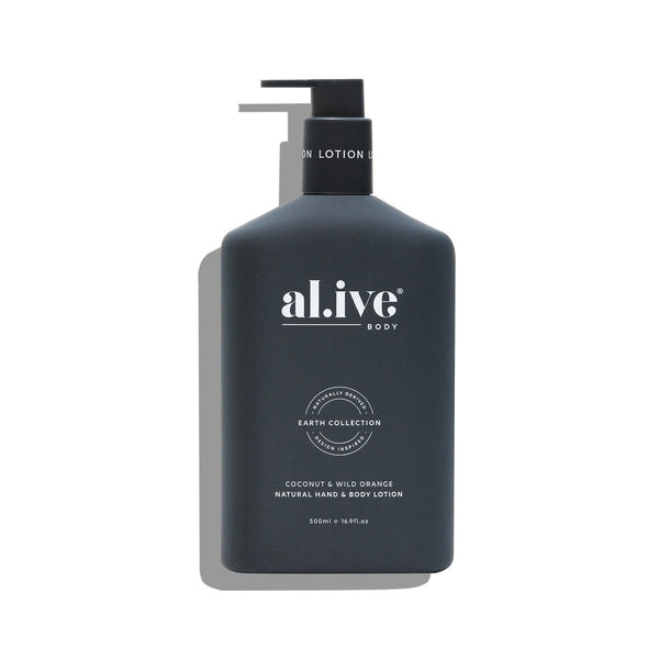 alive body Hand & body Lotion - Coconut & Wild Orange