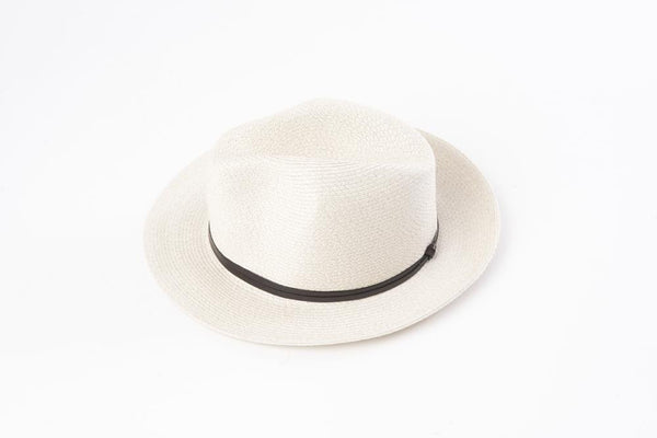 Hat Borsalino Fedora Off White