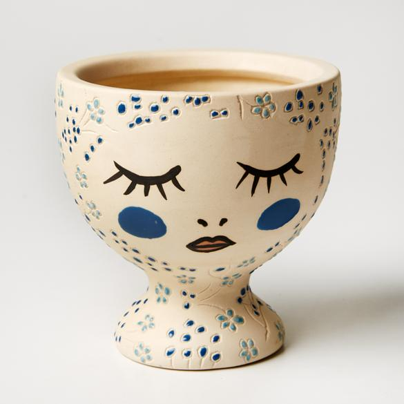 Alyssa Vase Blue