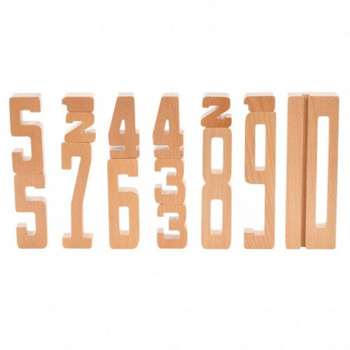 Wooden Educational Numbers