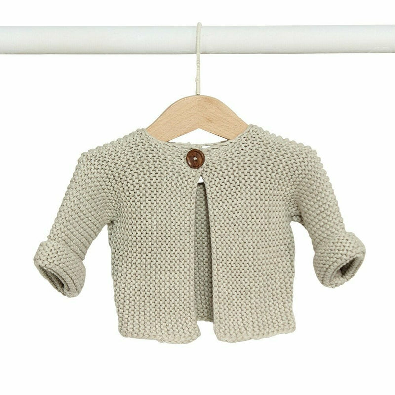 Elf Baby Cardigan - Natural