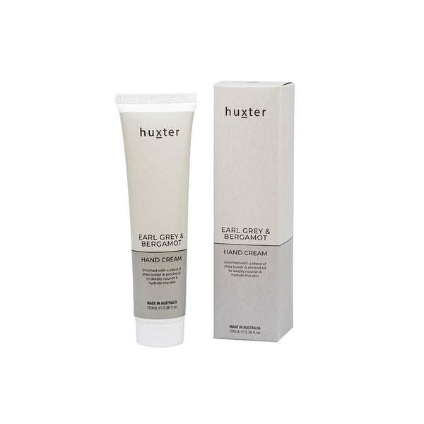 Hand Cream - Pale Grey 100ml - Earl Grey & Bergamot