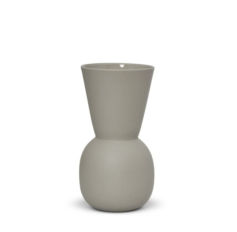 Cloud Bell Vase Dove Grey  Small