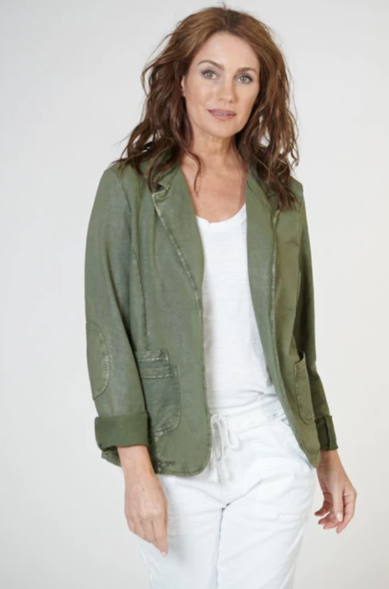 Southern Star Back Jacket - Khaki