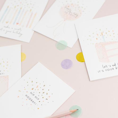 Confetti Collection Birthday Card Bundle