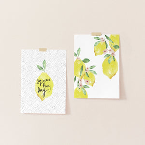 Lemon Print Bundle