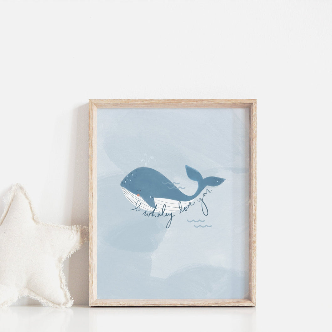 I Whaley Love You Print