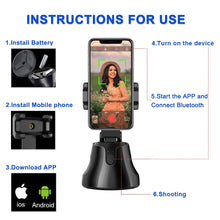 Load image into Gallery viewer, BiT - Auto Smart Shooting 360° Object Tracking Holder All-in-one