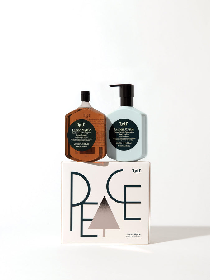Limited Edition Christmas 'Peace' Body Double – Lemon Myrtle