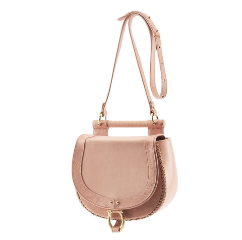 Sancia Babylon Bar Bag Nubuck Canyon Rose