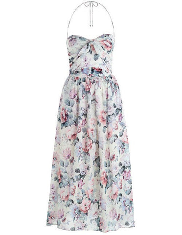 Zimmermann Jasper Tie Dress Floral // PREORDER