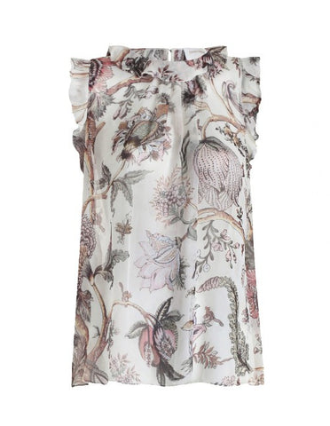 Zimmermann Karmic Flounce Tank Indienne Floral - Call Me The Breeze - 1