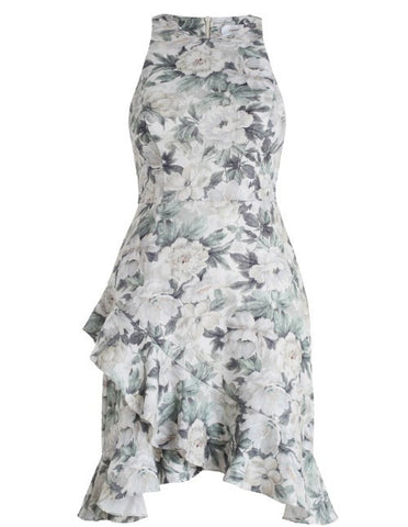 Zimmermann Bowerbird Flute Mini Dress