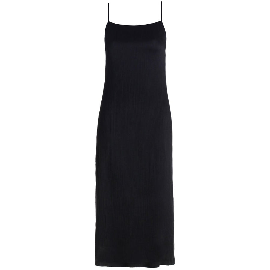 Zimmermann Rhythm Scrunch Slip Dress Black - Call Me The Breeze - 1