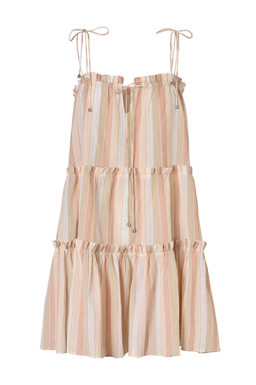 Steele Sanzio Dress Toffee Stripe
