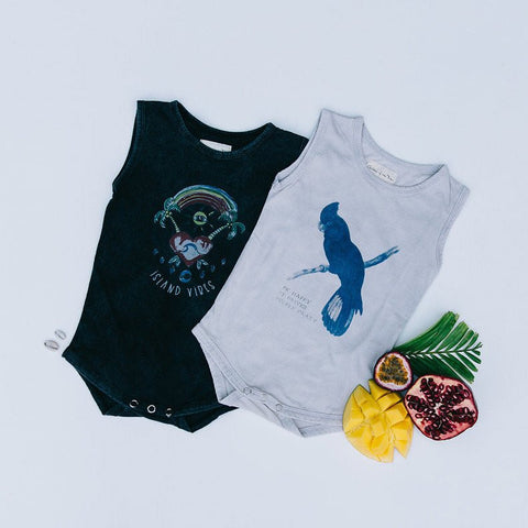 Children of the Tribe Island Vibes Singlet Onesie - Call Me The Breeze - 1