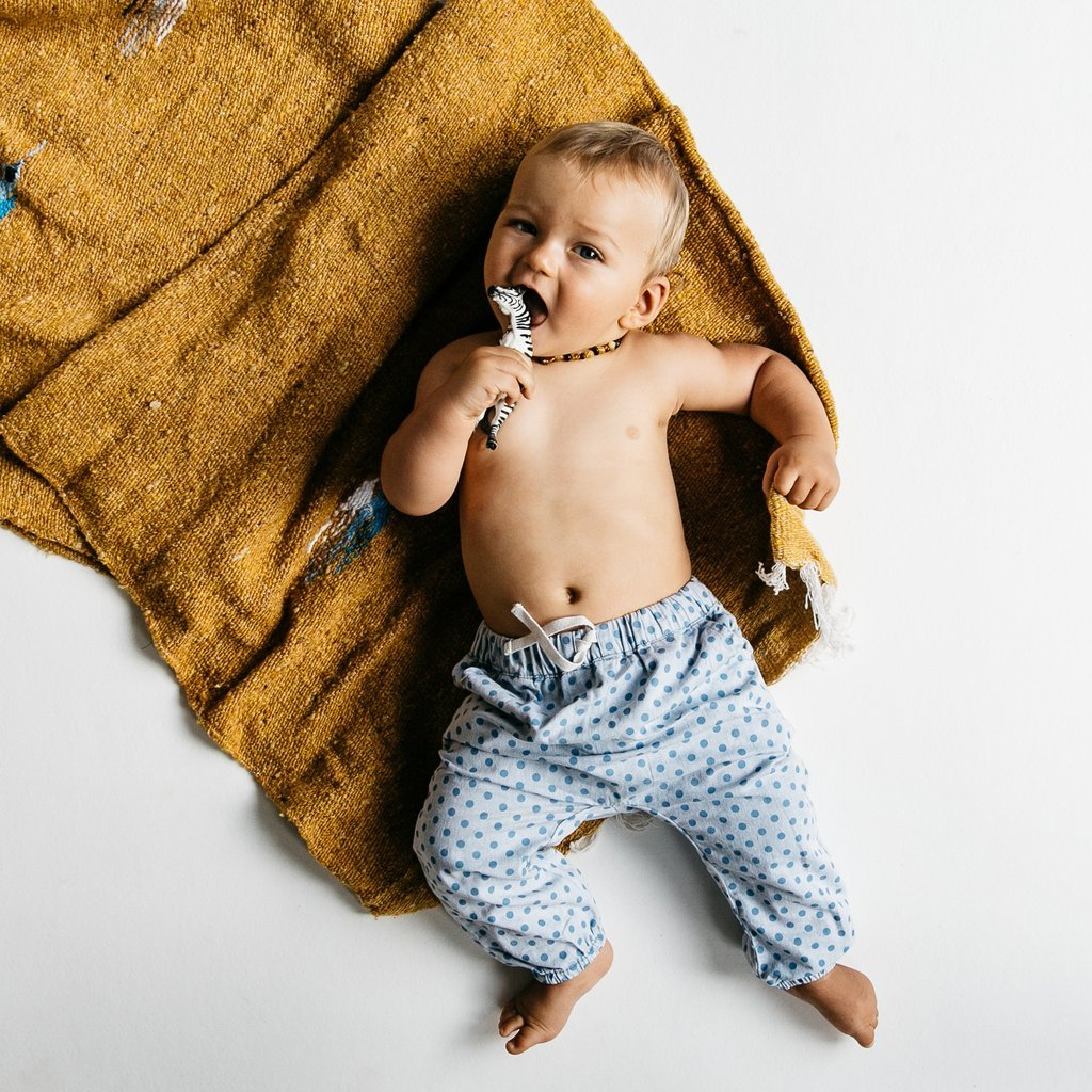 Children Of The Tribe Chambray Stone Baby Pant