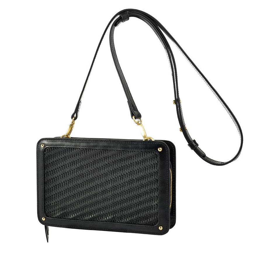 Sancia The Elodie Clutch Black
