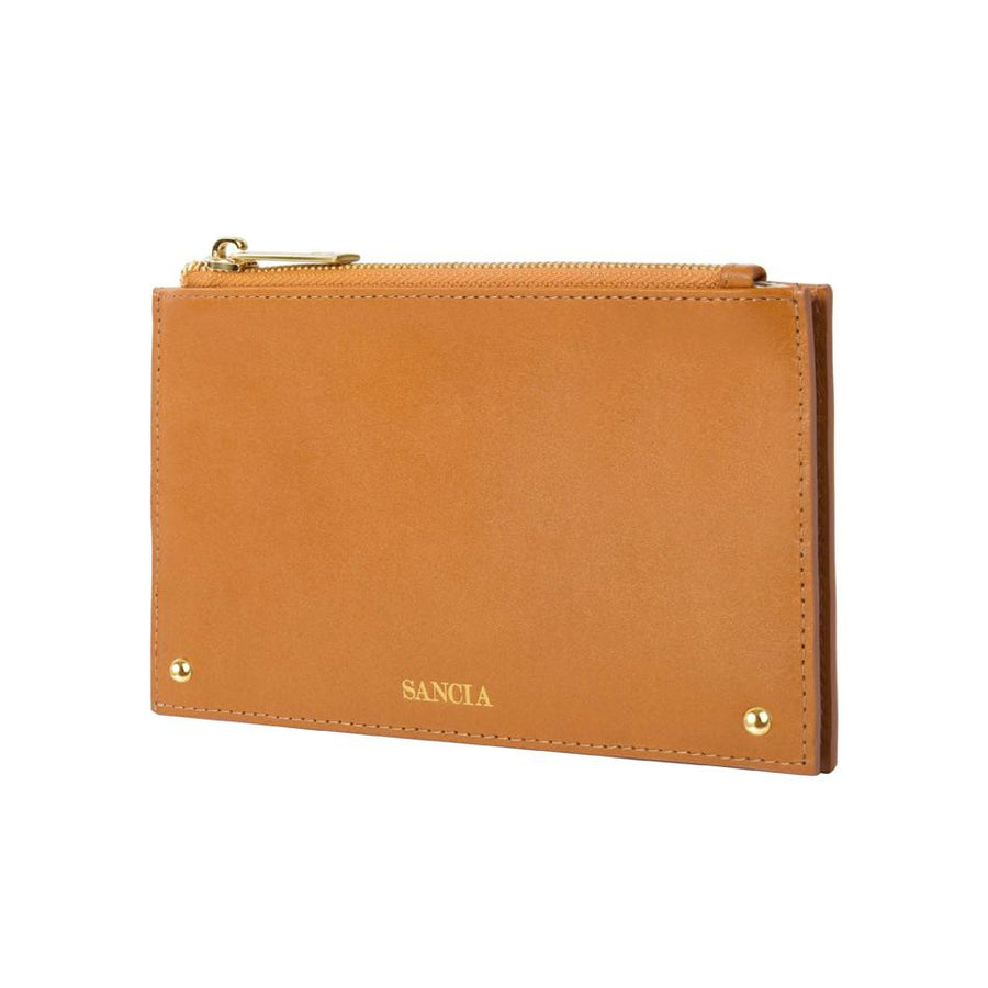 Sancia The Jeanne Coin Purse Cognac