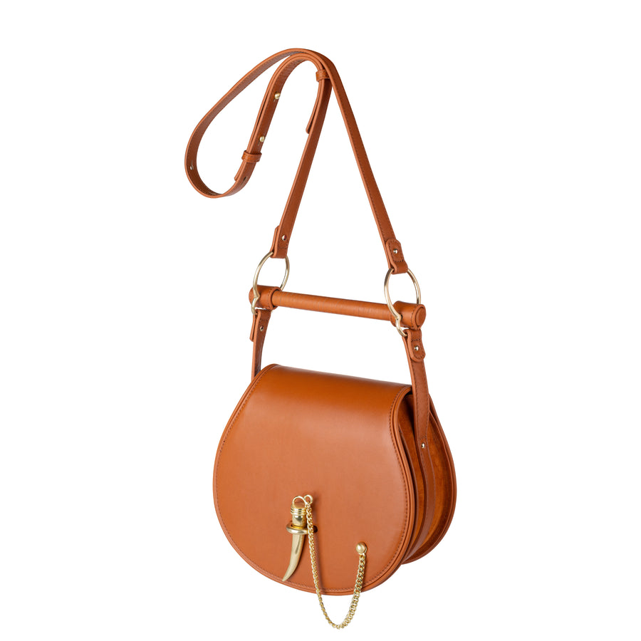 The Babylon Bar Bag Muse Cognac