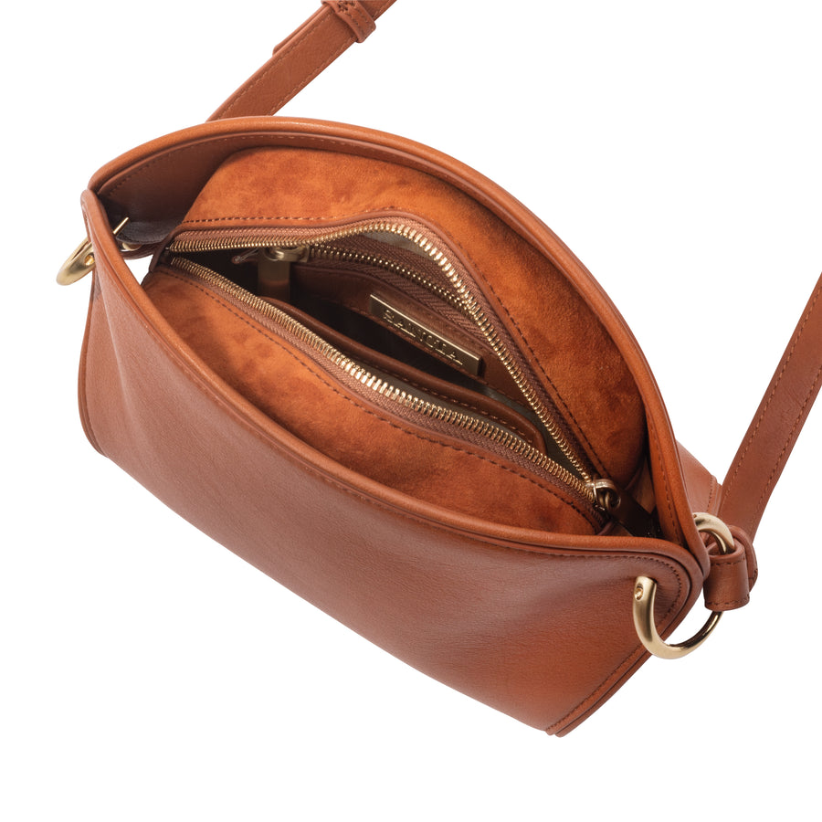 Sancia The Ayumi Mini Bag Cognac