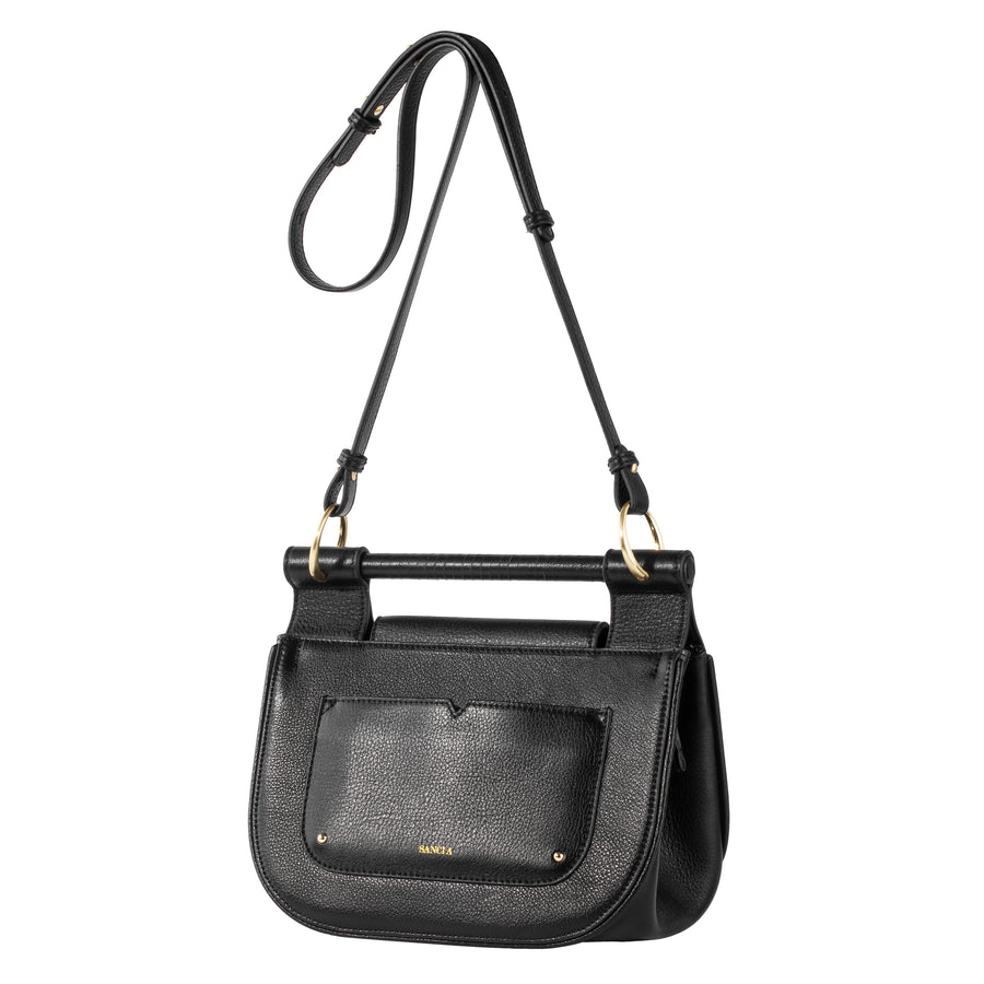Sancia The Masae Satchel Antique Black