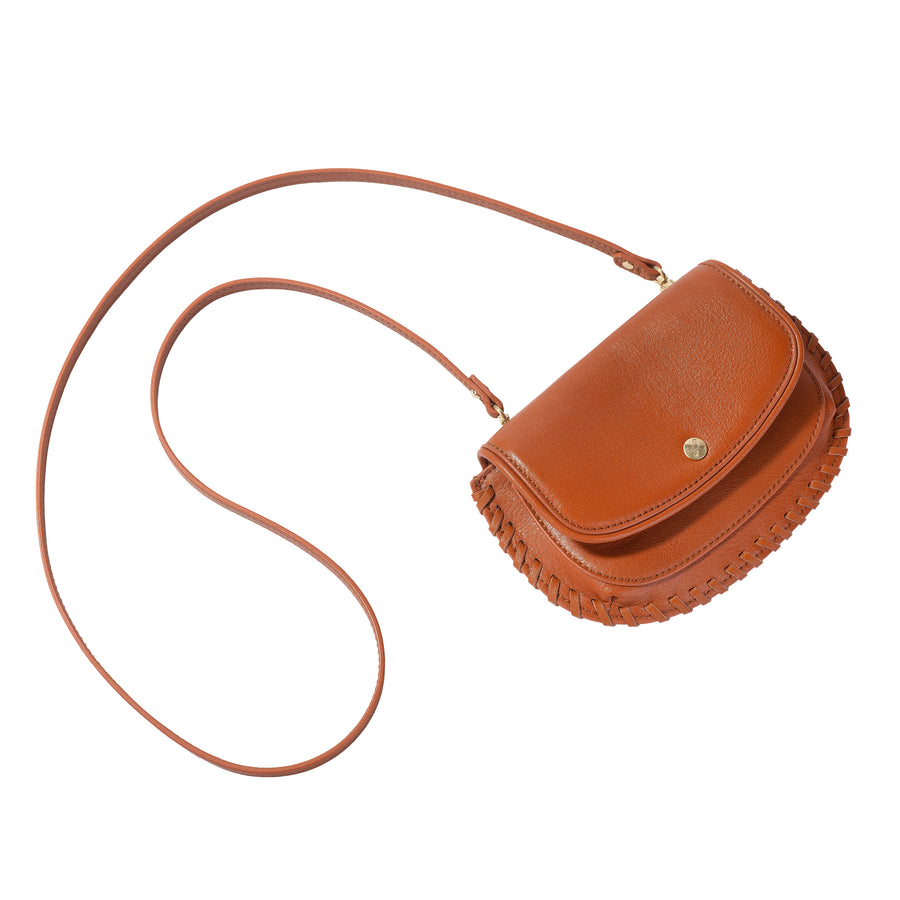 Sancia The Brigitte Belt Bag Cognac